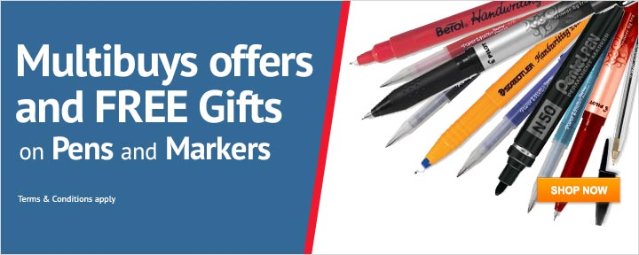 Multibuy Offers on Pens & Markers